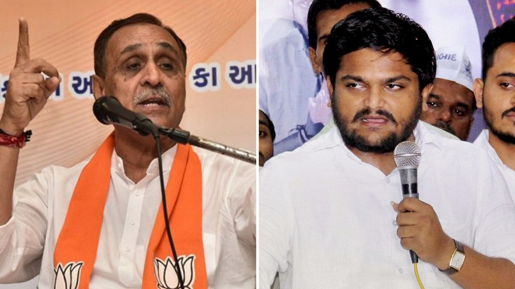 PAAS Says Guj CM Behind Hardik's Morphed Sex Clips, BJP Hits Back