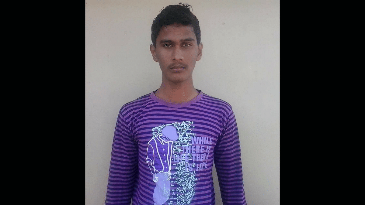 Aakash, the stalker who was arrested by the police
