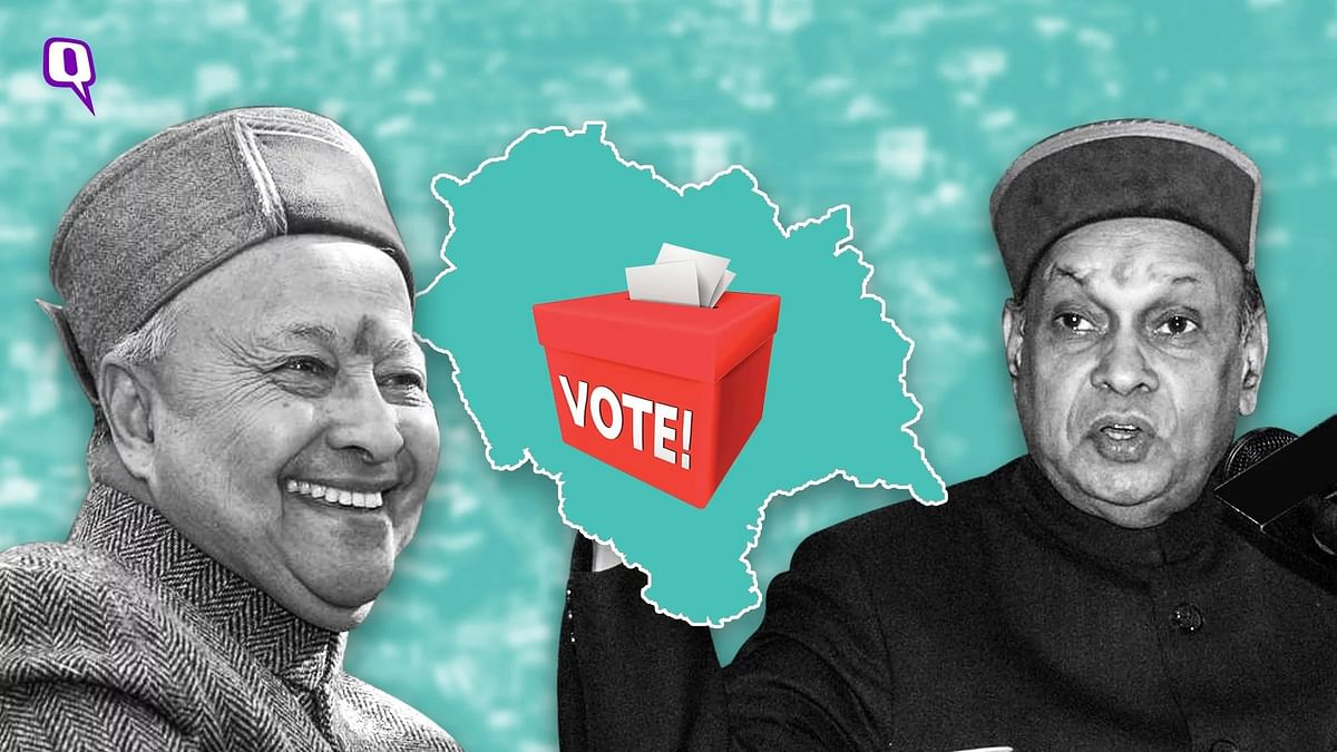 The ruling Congress, led by Chief Minister Virbhadra Singh, and the BJP led by former CM Prem Kumar Dhumal, are contesting all 68 seats.