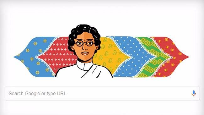 Yay for Anasuya Sarabhai's Doodle, But Why a Shoddy Wiki Entry?