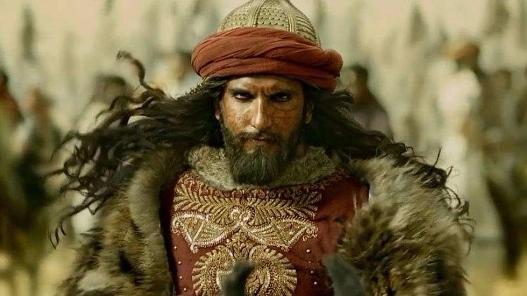 Ranveer Singh as Alauddin Khilji in <i>Padmaavat.</i>
