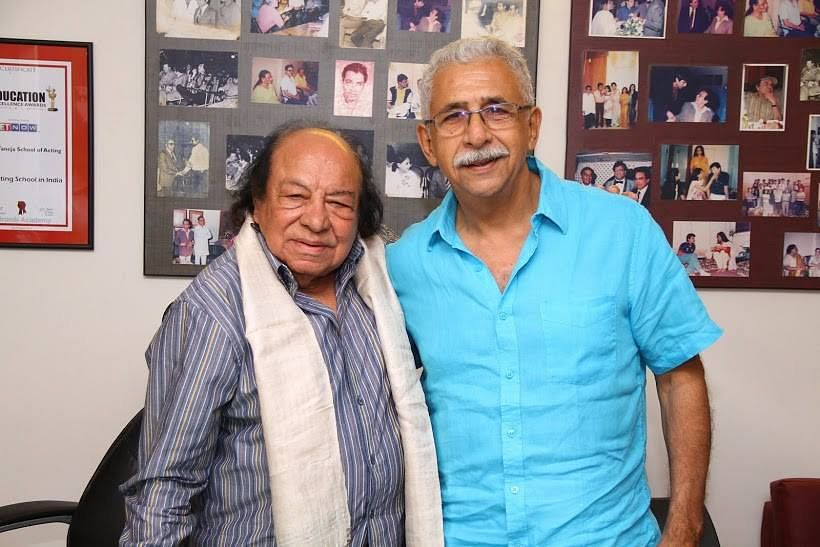 Naseeruddin Shah was one of Taneja's students at FTII.