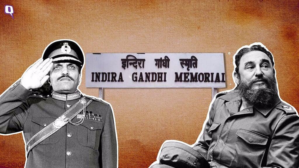 General Zia-ul-Haq (L) and Fidel Castro (R). Image used for representational purposes.
