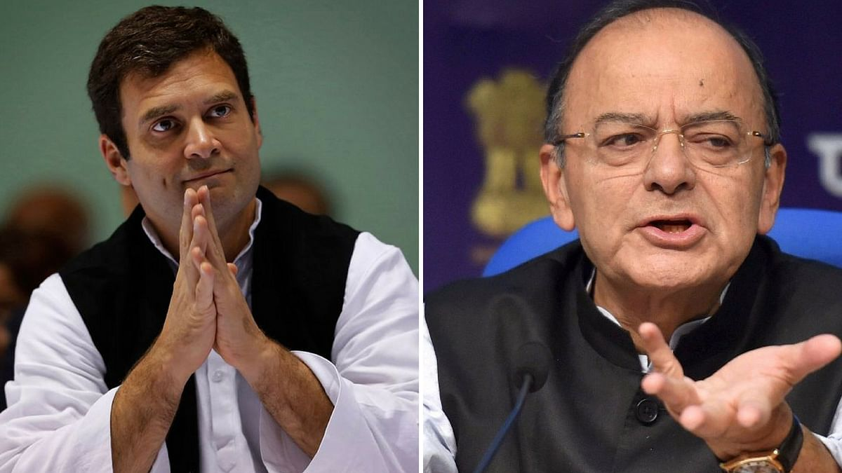 Jaitley Calls Rahul 'Clown Prince', Cong Terms FM 'Babble Blogger'