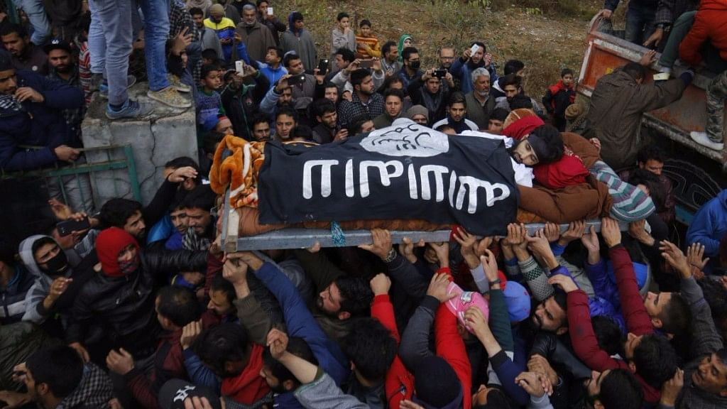 Kashmir's Changing Colours – From Pro-Pak Green to ISIS' Black