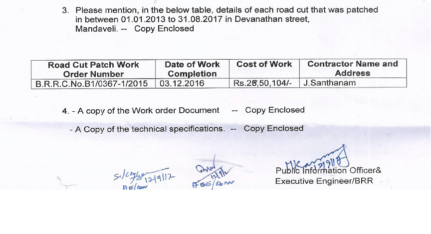 How bad should the quality of the road be that it is being repaired thrice in 6 months?