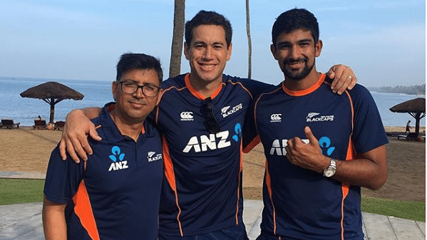 Kiwi star Ross Taylor's friendly banter with former Indian cricketer Virendra Shewag was also a source of amusement for social media users.
