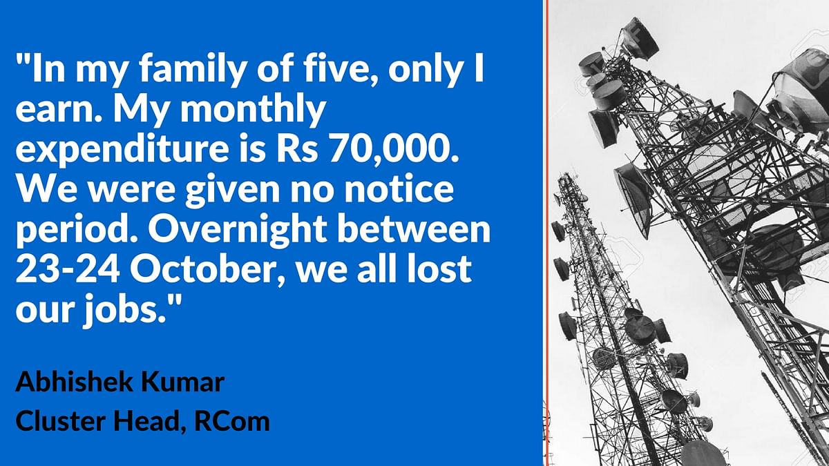 Reliance Communications Leaves 3,000 Employees Out in the Cold