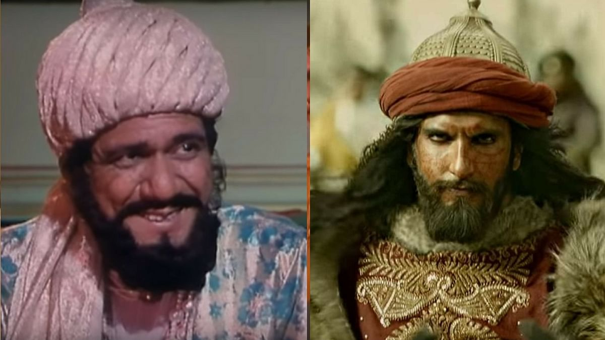 Om Puri portrayed Khilji on Benegal's show.