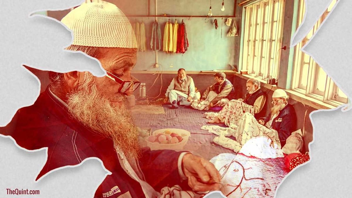 The colourful hand-embroidered Kashmiri shawls that keep us warm in winters may soon be a thing of yore.