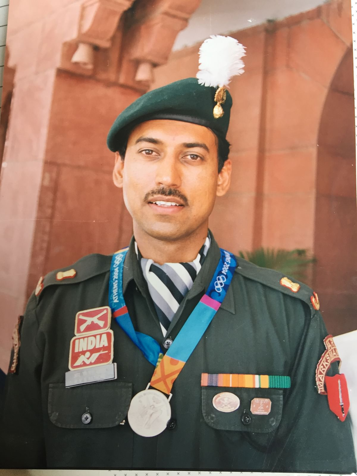 Rathore's silver medal at the Athens Olympics in 2004 was historical.