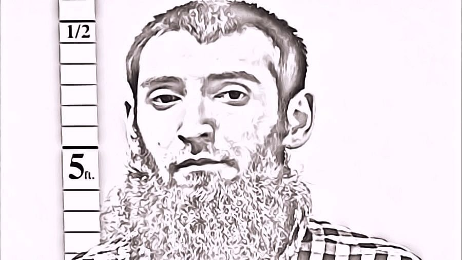 This undated photo of Sayfullo Saipov was provided by St Charles County Department of Corrections via KMOV.