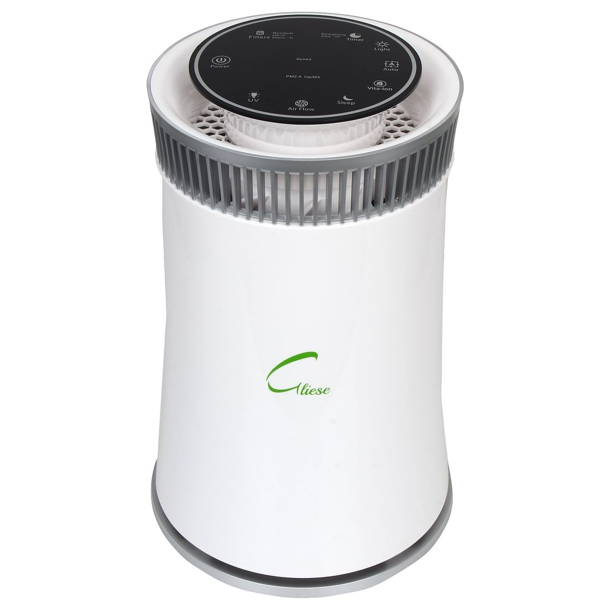 The Gliese Magic air purifier comes with an activated carbon filter.