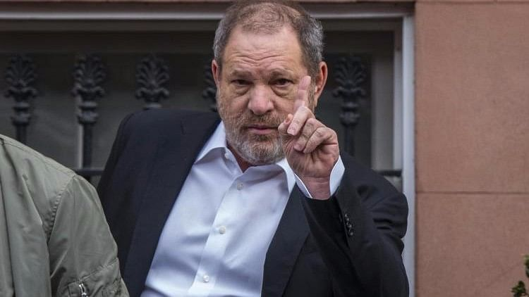 Harvey Weinstein further disgraced with allegations of rape.