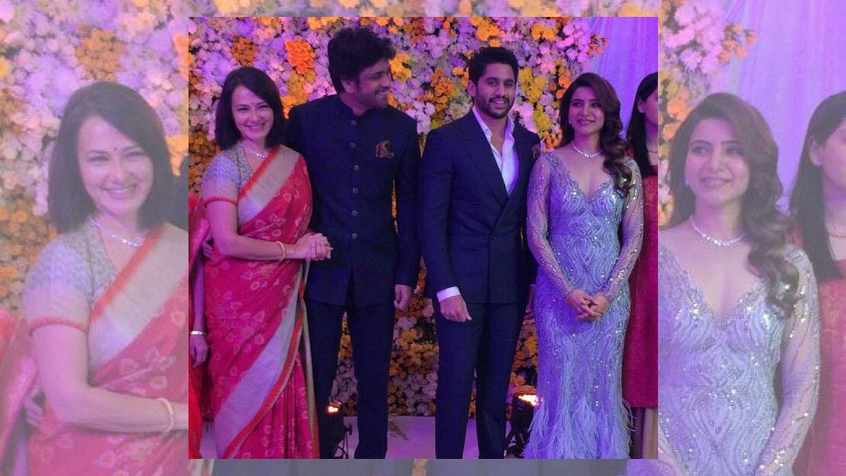 #ChaySam: Rana, Chiranjeevi at Samantha-Naga Chaitanya's Reception