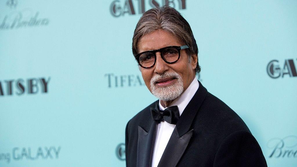 Bachchan was in Kolkata for the inauguration of the 23rd Kolkata International Film Festival.