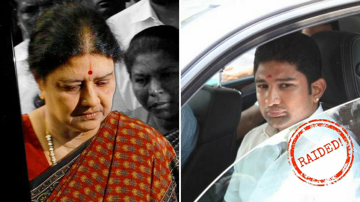 Over 188 locations, connected with VK Sasikala and her relatives, were raided by Income Tax Department officials.