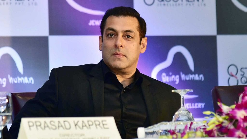 Salman Khan at an event.