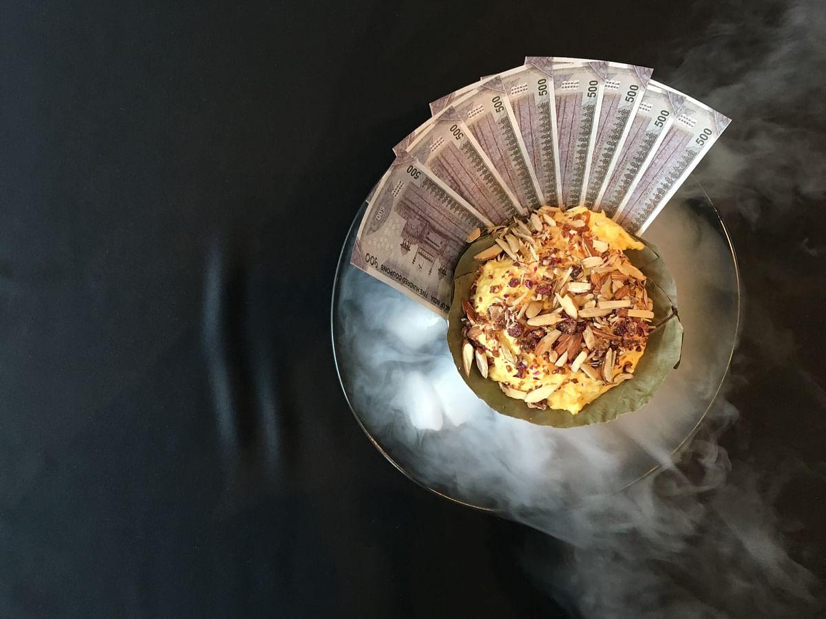 Chef Shantanu's version of Daulat ki Chaat