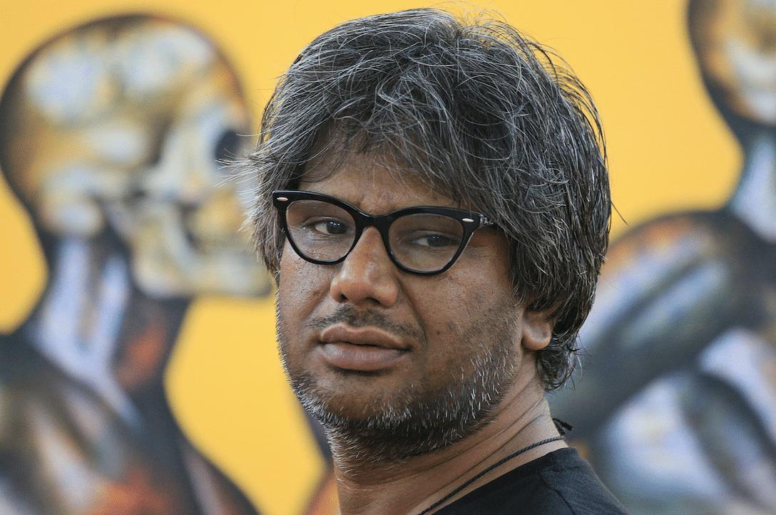 Jailed artist, Chintan Upadhyay.