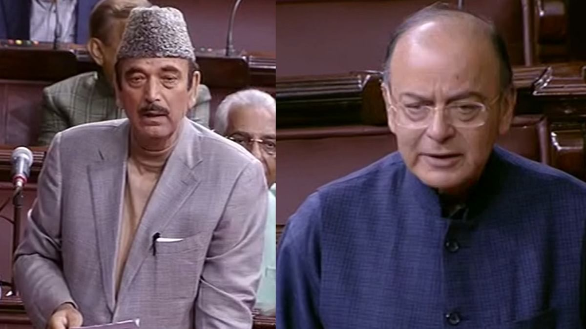 Finance Minister Arun Jaitley and Congress  leader Ghulam Nabi Azad  issued clarifications in the Rajya Sabha over remarks made against each other during the Gujarat polls.