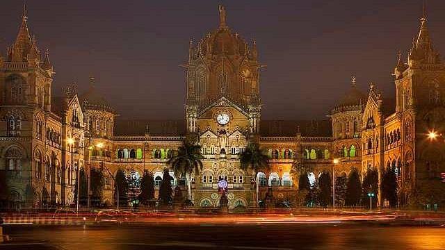 Mumbai's iconic CST building.