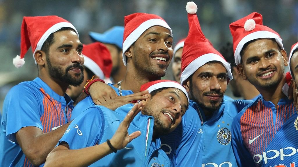 In Photos: India's Cricket Santas Usher in Christmas After T20 Win