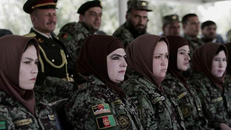 Afghan Women Soldiers Are Training In India For Combat Roles