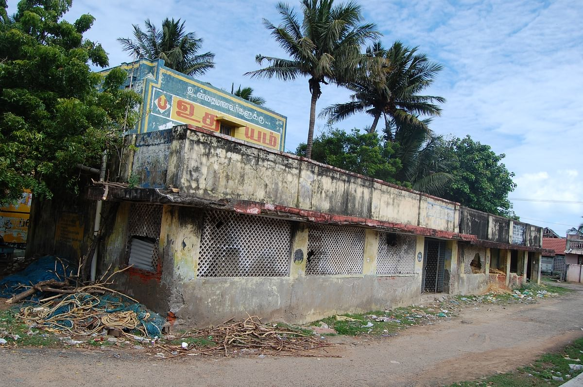 The school became a discarded building which carried too many painful memories.