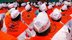 The Lingayats continue to reiterate their demand for 15% reservation.