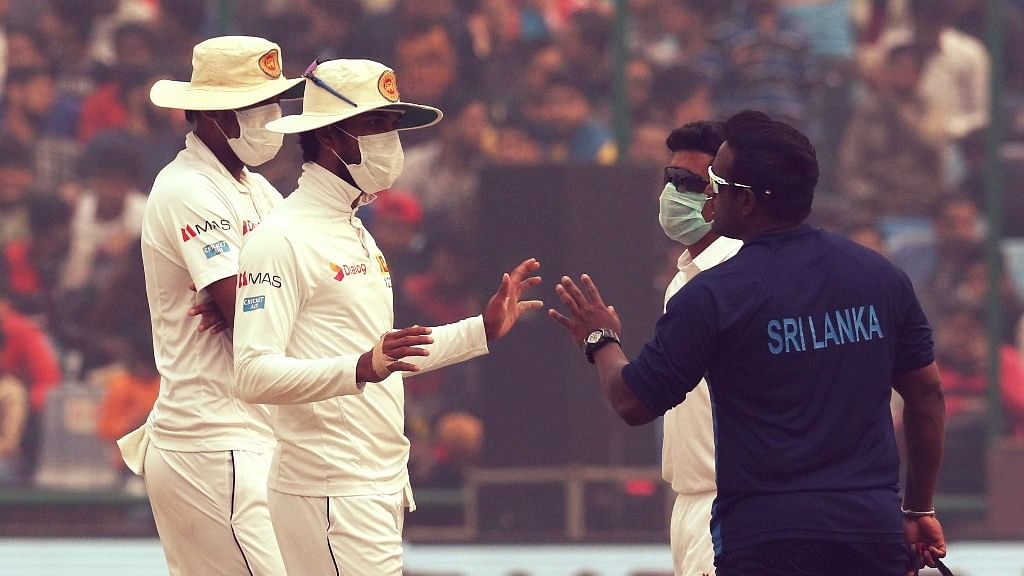 In December 2017, the Sri Lankan cricket team was left gasping for breath during a Test match at the Kotla.