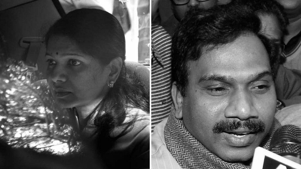 M Kanimozhi (L), and A Raja (right). All the accused in the 2G spectrum scam have been acquitted. Image used for representation.
