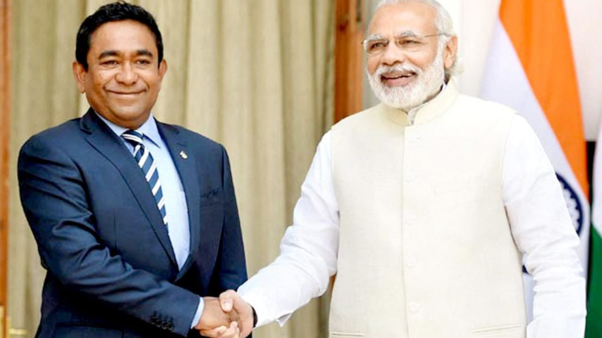 """Maldives Crisis Like Kashmir, Stay Away,"" Minister Tells India"
