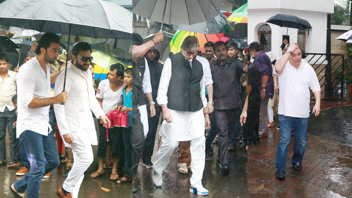 In Pics: SRK, Ranbir, Saif, Bachchan at Shashi Kapoor's Cremation