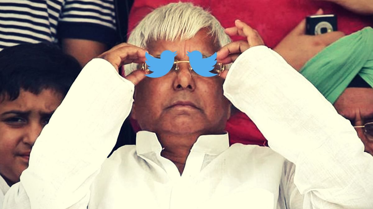 What Does Lalu Do on His Way to Jail? Goes on a Tweet Frenzy, Duh!