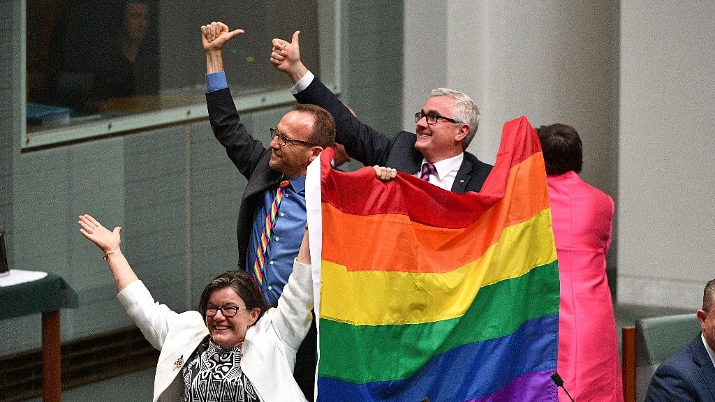 Australia Celebrates 'Day for Love' as It Allows Same-Sex Marriage