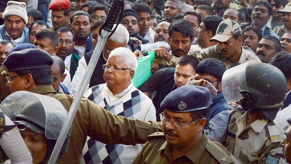 As Lalu Faces Ninth Trip to Jail, a Glimpse at his Tainted Tenure