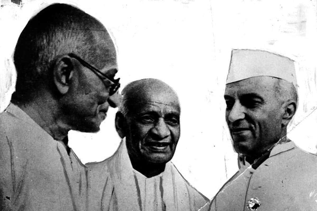 Gandhi, Patel (centre) and Nehru. Image used for representational purposes.