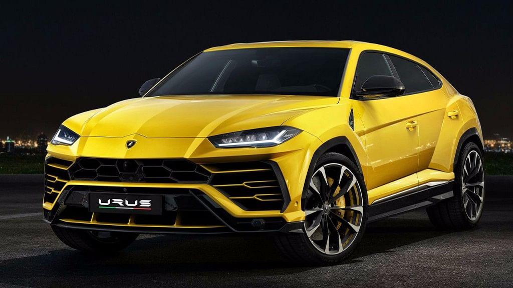 Lamborghini Urus has undergone design changes.