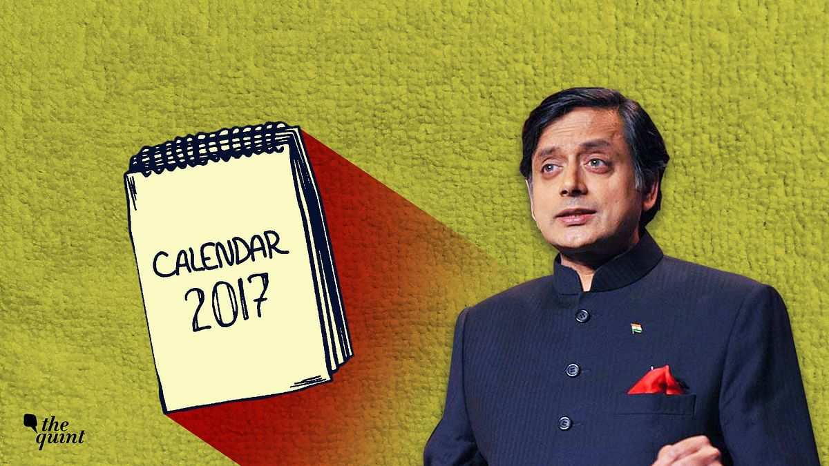 Tharoor's Best, 2017: From Smartening Politics to Aiding Rohingyas
