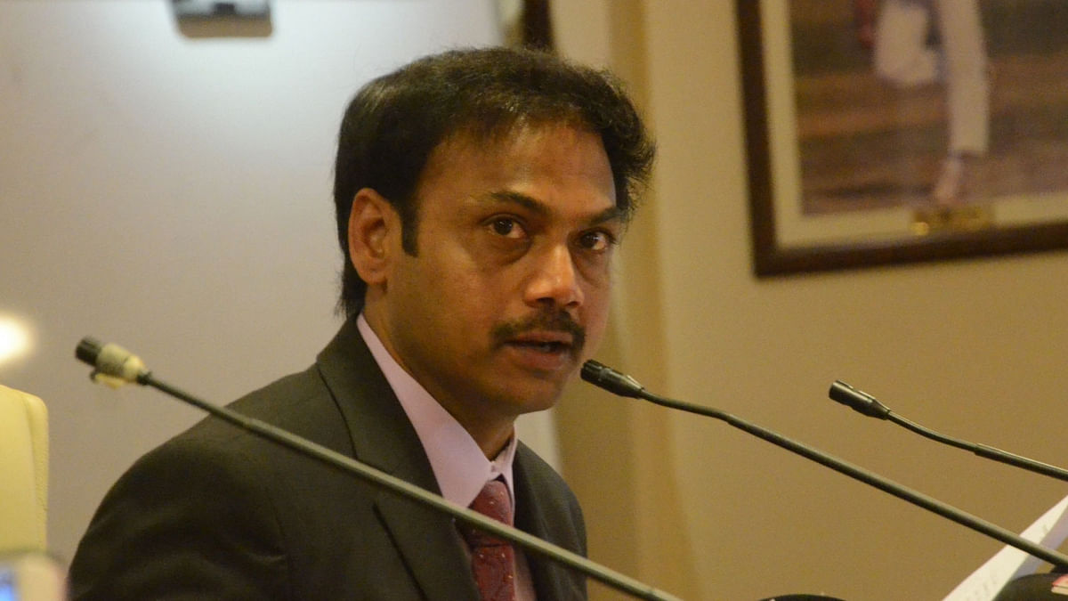 File picture of Chairman of Selectors MSK Prasad.