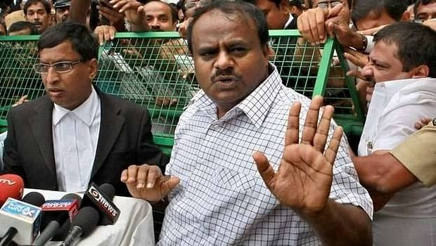 JD(S) leader HD Kumaraswamy is one of the chief ministerial candidates in the state.