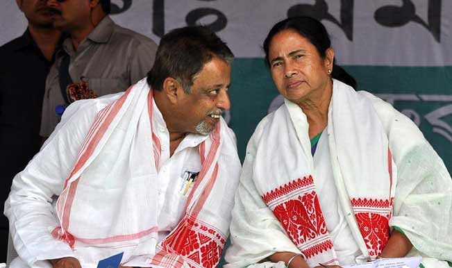 An earlier picture of Mukul and Mamata.