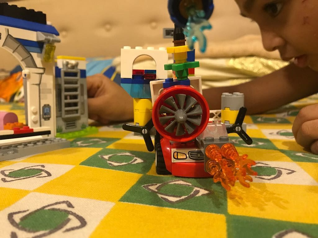 <p>Whenever my sister-in-law travelled abroad, she bought her two-year-old a LEGO set – the LEGO set integrates Maths skills with play. </p>