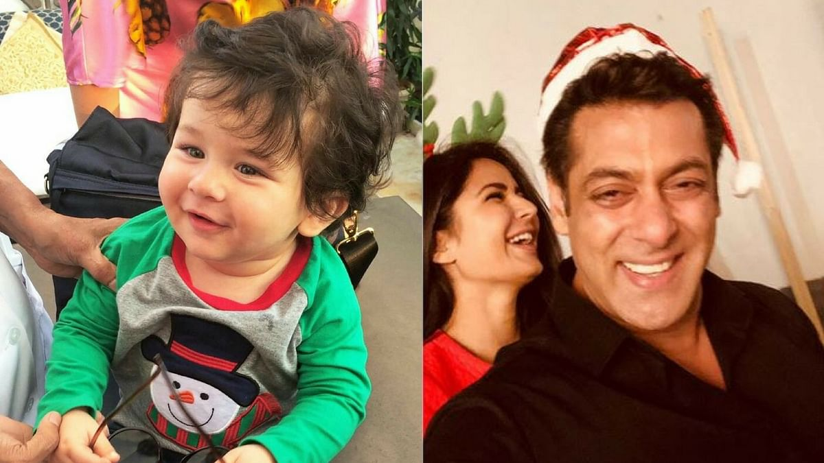 Taimur's cuteness takes over the Kapoors' Christmas brunch.