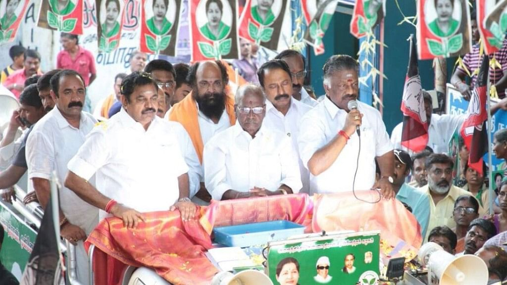 Earlier, AIADMK had called for a fast to express their anger and disappointment at the Centre's inaction to set up the Cauvery Management Board.