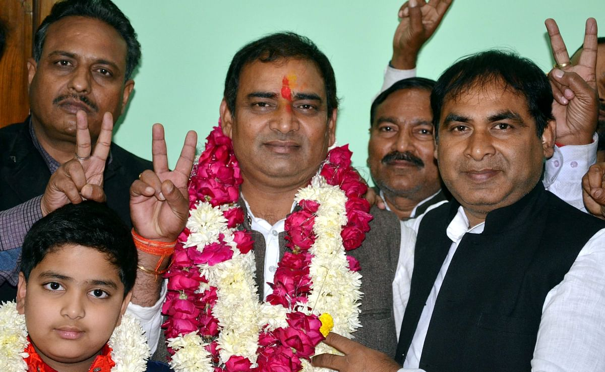 The BJP retained the Sikandra Assembly seat in UP by a margin of over 11,000 votes.