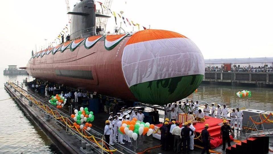 Watch: PM Modi 'Dedicates' Submarine INS Kalvari to the Nation