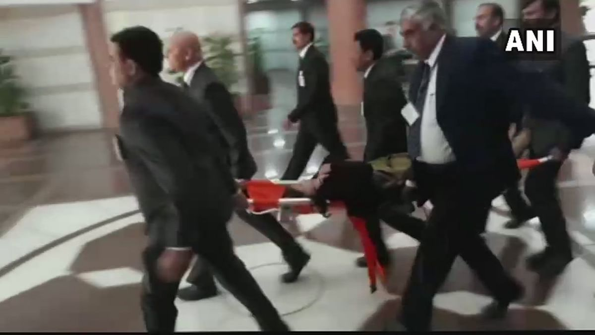 MoS Agriculture Krishna Raj Rushed to Hospital During Party Meet