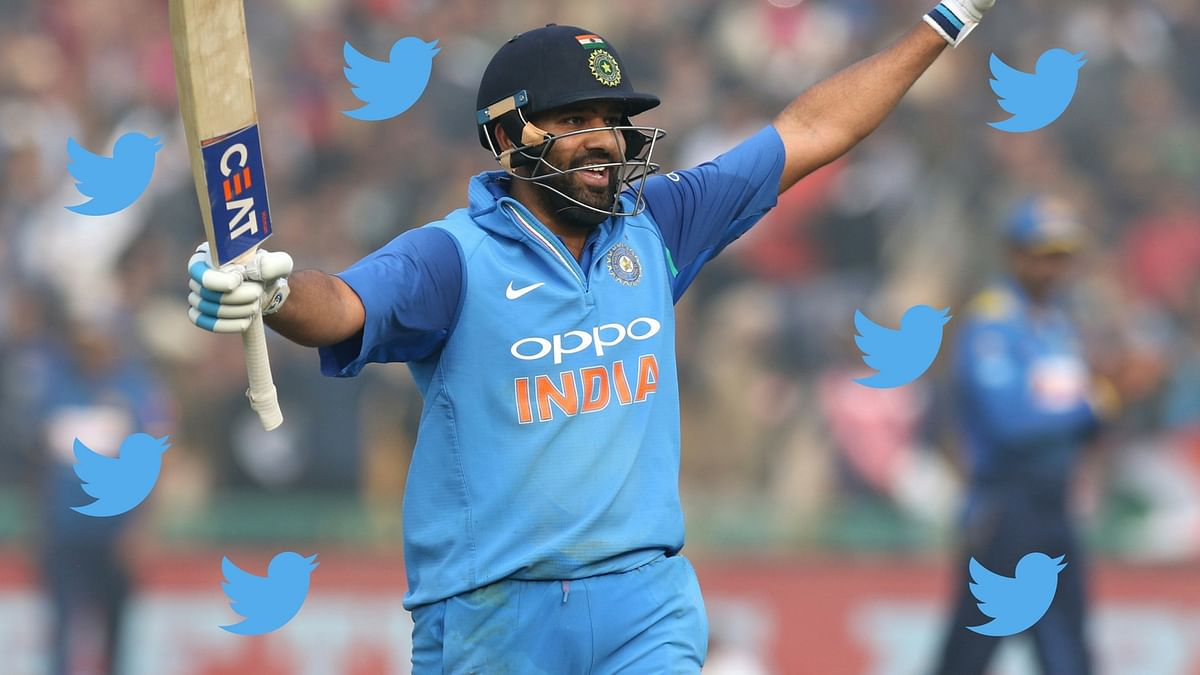 Rohit Sharma Scores 100 off 35 Balls and Tweeple Cannot Keep Calm